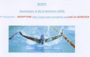 FORMATION BPJEPS CREPS MONTPELLIER